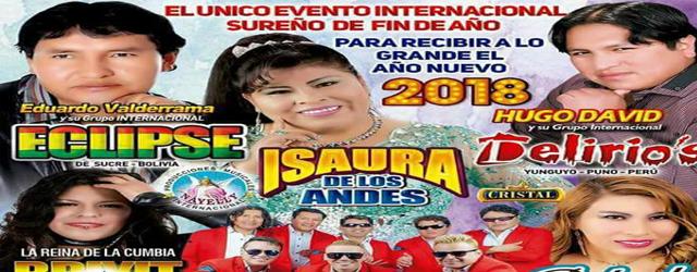 el unico evento internacional sureño de fin de año, COLISEO PUNO LIMA