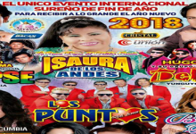 evento internacional en COLISEO PUNO, este 31 de diciembre