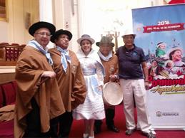 Comparsa Huamanga Tunante se lució en Lima