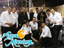 Agua Marina imparable con 'Trilogía de la cumbia'