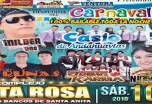 encuentro de los mejores despedida carnavales complejo Santa Rosa