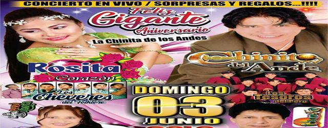 FELIZ ANIVERSARIO ROSITA CORAZON DE ANDAMARCA EN EL BOSQUE DE VILLA EL SALVADOR