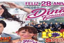 feliz aniversario Dina Paucar Los Portales del Huayllabamba