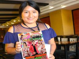 kely Morales en tv de Huaral