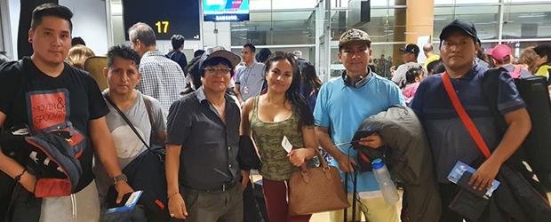 grupo CIELO GRIS se quedó varado en ESPAÑA