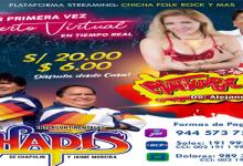 SHOW VIRTUAL PINTURA ROJA Y LOS SHAPIS