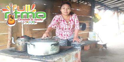 PRINCESA SANDINA de cocinera en mina en Huaypete, Madre de Dios