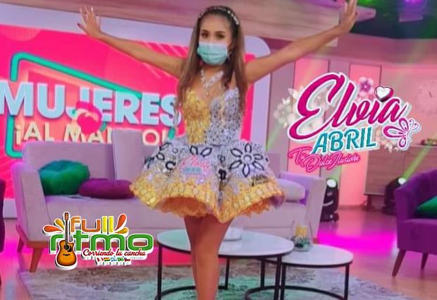 Elvia Abril viaja a Bolivia, despues de ganar trofeo en tv de señal abierta