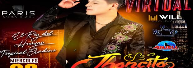 Jhoncito Poma en concierto virtual