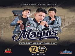 LOS MAQUIS EN concierto virtual